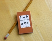 The Sins of Icarus, mini artist book