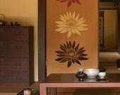 Flower Stencil Lotus Grande SM - Reusable stencils better than Wall Decals