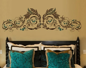 Wall Stencil Cordoba - reusable stencils for walls - great for DIY decor