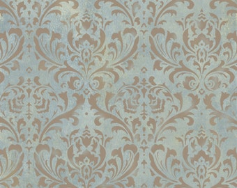 Anna Damask Stencil - Reusable Damask Stencils for Walls - DIY Home Décor - Better Than Wallpaper!
