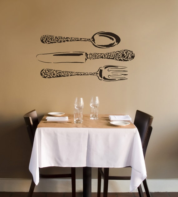 Reusable Stencil Bon Appetit - Wall stencils for Easy Home Decor