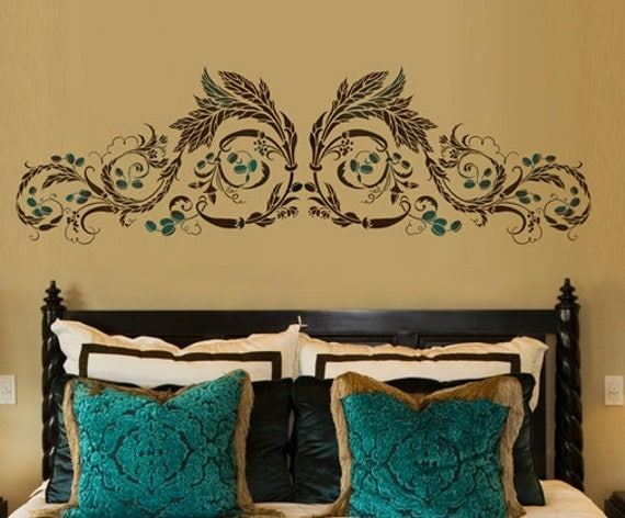 Wall Stencil Cordoba - reusable stencils for walls - great for DIY decor