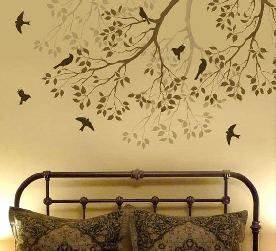 Unavailable listing on etsy for Easy wall mural