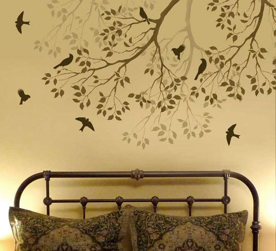 Stencil Design Wall Decor : Unavailable listing on etsy