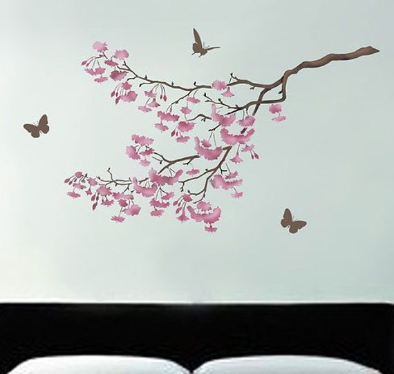wallpaper stencils tree