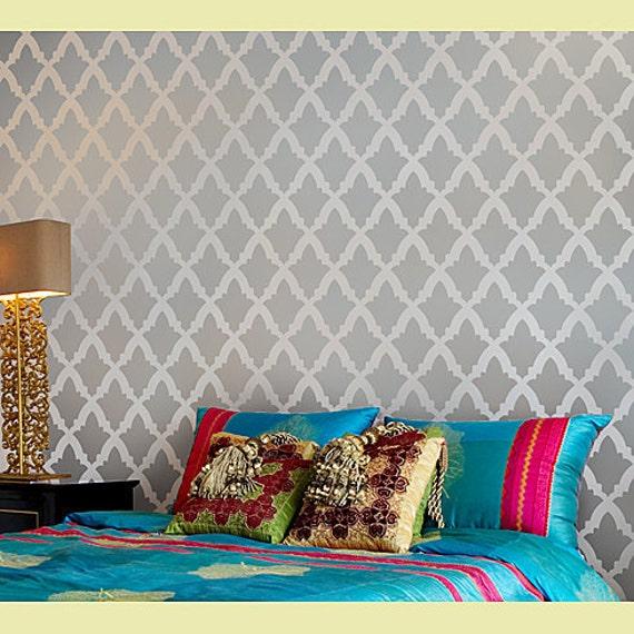 Turkish Home Decor: Stencil Turkish Tulip Beautiful Moroccan Inspired Stencils