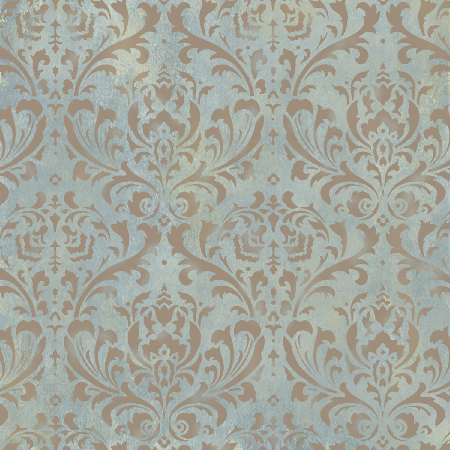 Anna damask stencil reusable damask stencils for walls diy details try wall stencils amipublicfo Gallery