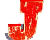 Tall Standing Wood Letters