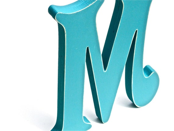 30 offdecorative wooden letter m wall decor by for Letter m home decor