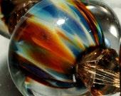 Boro Glass Beads-Glass Beads-Boro Beads-Borosilicate-HandMade By Brenda Scata-7 beads-CHACO CANYON