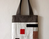 Modernist's Bag / Linen and Cotton