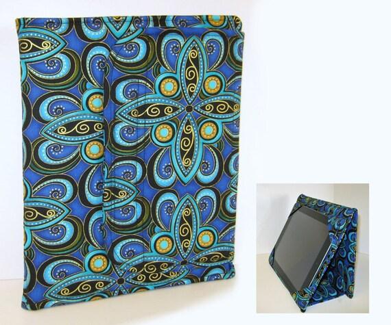 iPad Cover Hardcover iPad Case Cover Custom iPad iPad 2 iPad 3 Cover Plume Blue