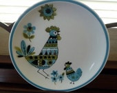 Hen and Chick Dinner Plate