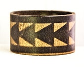 Geometric Tribal  Native Cuff Jewelry Women's Small Medium