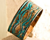 Turquoise Jewelry Summertime Fashion Snap Cuff