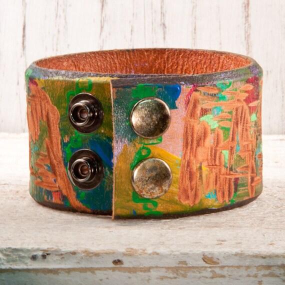 SALE Vintage Bracelet Reclaimed Repurposed Jewelry OOAK