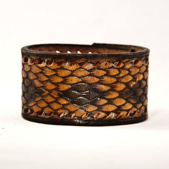 Gift for Him Leather Cuff Men's Jewelry