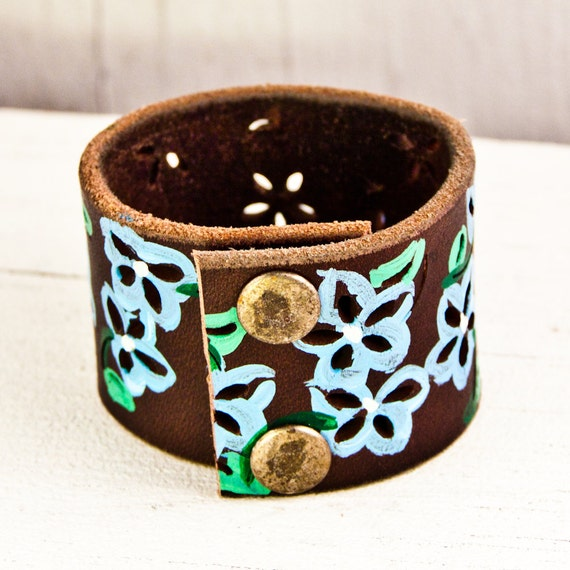 Leather Jewelry August Finds Winter  Fashion Cuff