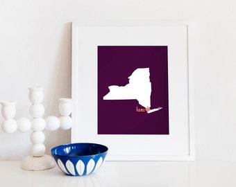 New York City is My Home // 8x10 Digital Print