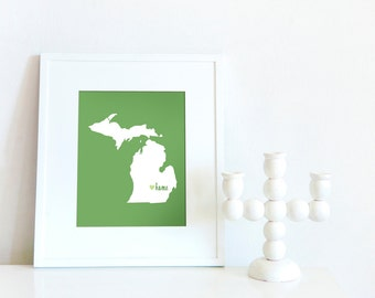 Mid-Michigan is My Home // 8x10 Digital Print