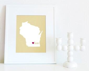 Madison is My Home // 8x10 Digital Print