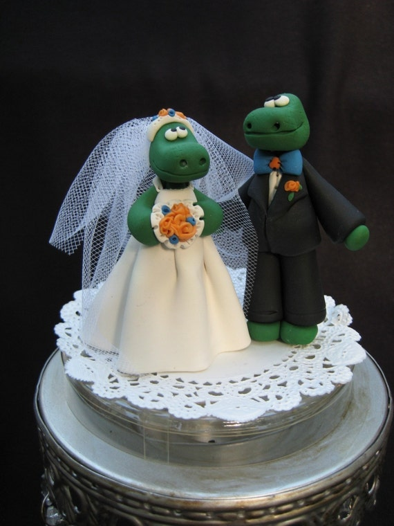 florida gator wedding cake toppers gator and groom cake topper 14326