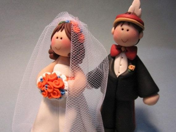 Custom order for Dorothy..Gator Bride and Nole Groom
