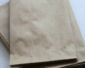Set of  150 - Brown Kraft Food Safe Flat Merchandise Bags - 4 x 6 Inches - Gifts and Packaging