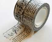 Tim Holtz Tissue Tape - Symphony - 2 Rolls 16 Yards Each