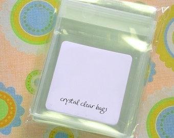 QTY 100 Clear Bags - USDA FDA Compliant  - 4 x 4 Inches