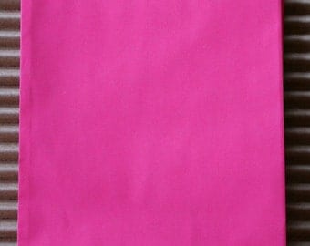 Hot Pink or Wild Rose Glassine Lined Paper Gourmet Bakery Bags - 4 3/4 x 6 3/4 Inches - set of 25