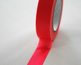 Washi Tape - 15mm - Hot Pink - Deco Paper Tape No. 13
