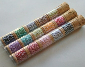 Baker's Twine Color Combination Tube - 25 Yards - Mix Your Own Five Spools