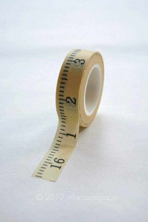 paper measuring tape Who says toilet paper is only useful when you're in the crapper not the measuring tape toilet paper, which you can commission as a makeshift tape.