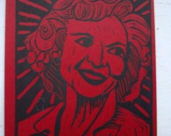 Golden Girls Postcard - Betty White