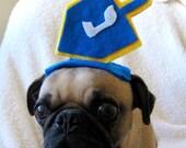 holiday party HANUKKAH DREIDEL pet HAT fits all sizes