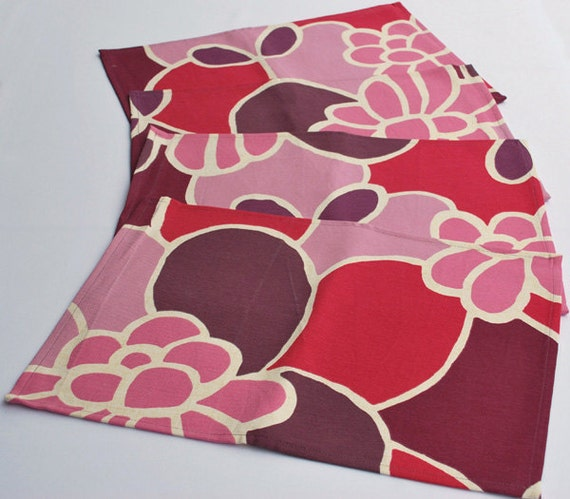 Set of 4 Fabric Placemats