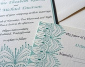 Tiffany Lace - Layered Wedding Invitation