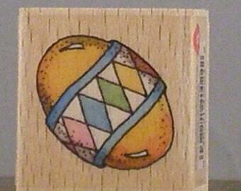 Single Easter EGG Rubber Stamp