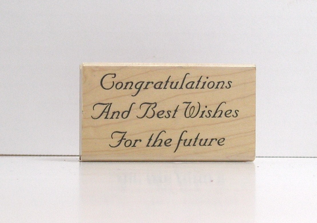 Image Result For Wedding Wishes Rubber Stamp