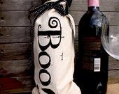 Halloween Boo Wine Bottle Bag