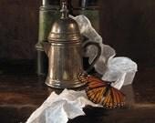 JOURNEYS 8x10 digital painting on canvas