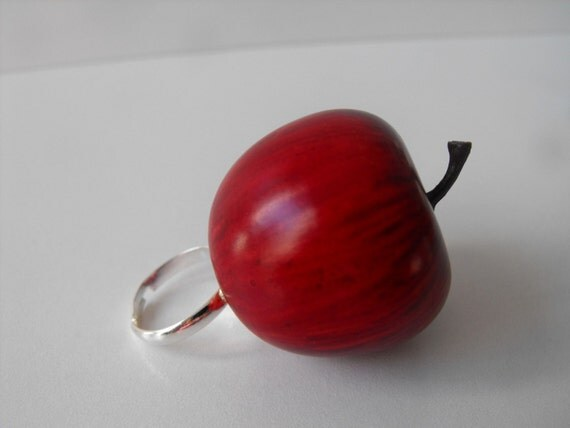 Red Delicious Apple Ring