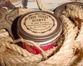 Tyler Roses (rose scent) 4 oz western cowboy candle