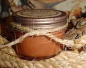 Saddled Up and Spurred (tobacco & whiskey) - 4 oz Mason Jar Western Cowboy Candle