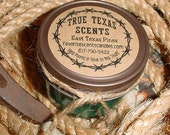 East Texas Pines - 4 oz western cowboy jar candle