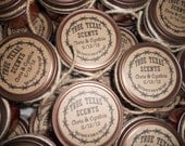 Western Style Texas Cowboy Wedding Favor 4 oz Candles - (100 ea) - (or custom order amount)