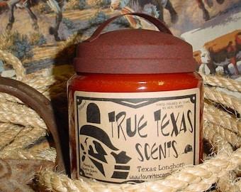 Pizza & Beer - 16 oz Western Texas Cowboy Candle