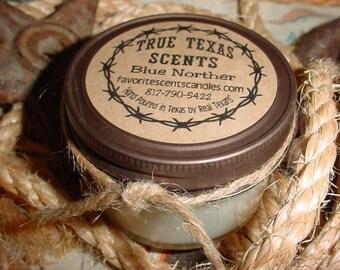 My Texas Baby - (baby powder) 4 oz western mason jar candle