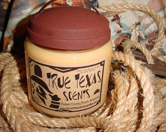 In the Pumpkin Patch - scented 16 oz Western Cowboy Candle